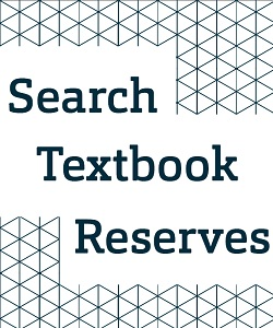 Search Textbooks Reserves